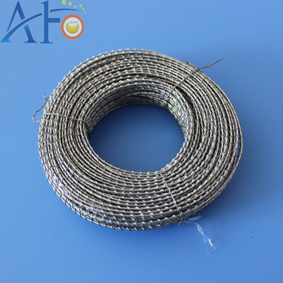 Two stranded galvanized iron wire X03